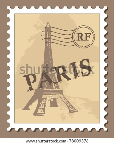 Paris Stamp Stock Photos Images Amp Pictures Shutterstock