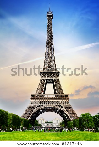 Paris Tower - stock photo