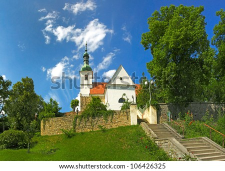 Parish church of St. Martin, Rosice, Moravia, Czech Republic