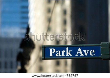 Park Avenue in New York