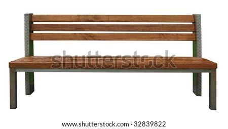 Park Bench - stock photo