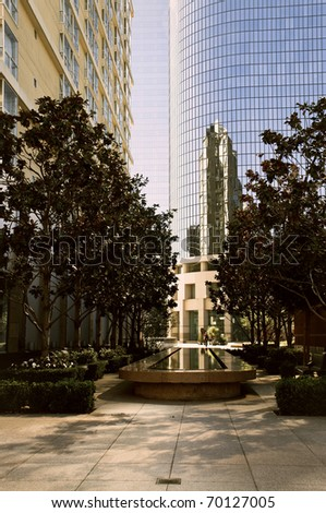 park in Los Angeles Downtown