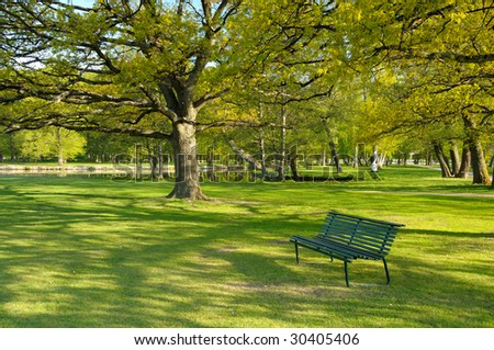 Park-Royal. - stock photo