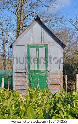 Park, UK - stock photo