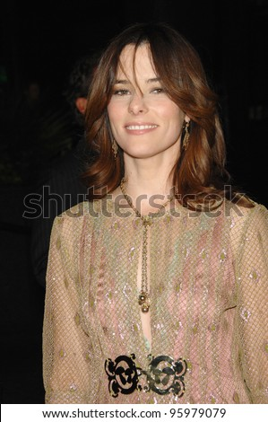 "PARKER POSEY at the Los Angeles premiere of her new movie ""For Your Consideration"". November 13, 2006  Los Angeles, CA Picture: Paul Smith / Featureflash"
