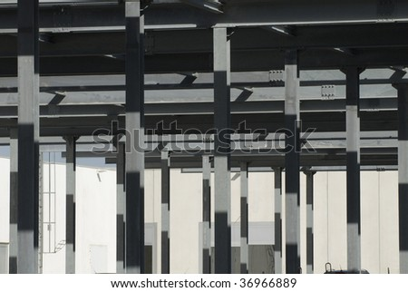 parking area - stock photo