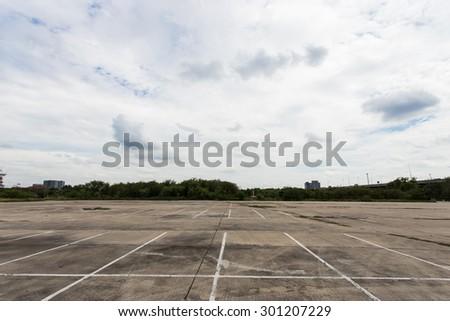 parking car - stock photo