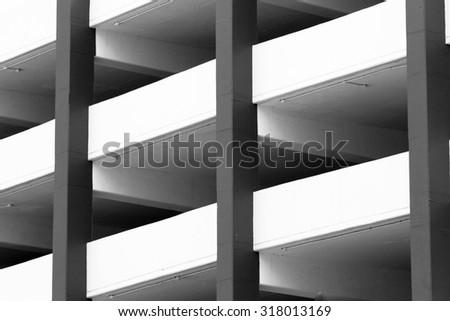 Parking Garage - stock photo