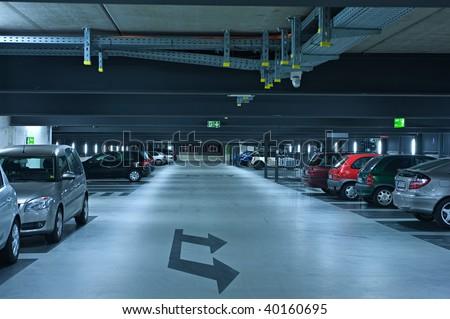 Parking garage #1 - stock photo