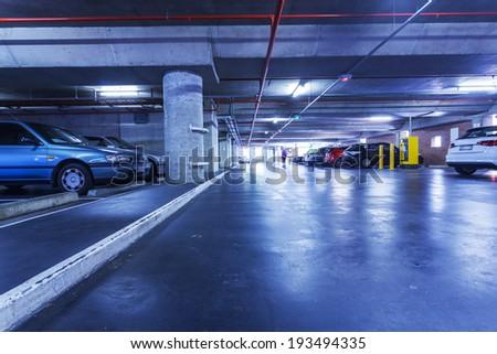 Parking in Brisbane - stock photo