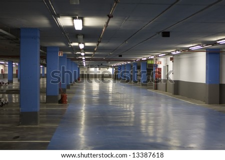 parking place - stock photo