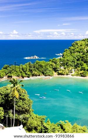 Parlatuvier Bay, Tobago - stock photo