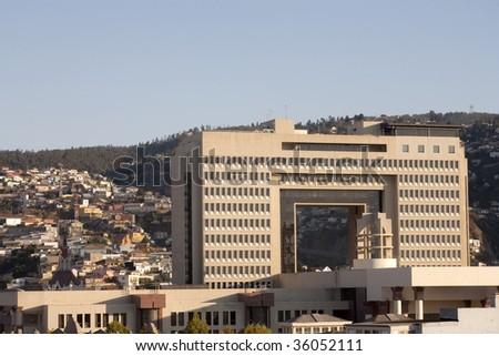 Parliament chilean - Valparaiso, Chile - stock photo