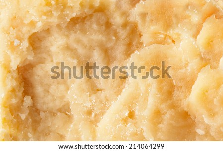 Parmesan cheese background - stock photo