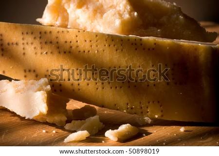 parmesan, parmigiano reggiano, italy - stock photo