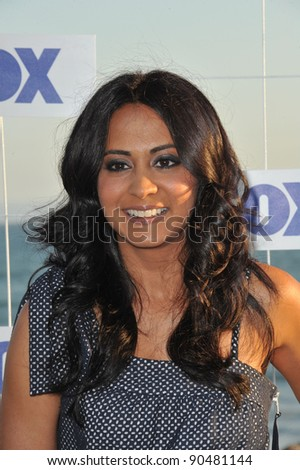 Parminder Nagra at the Fox TV Summer 2011 All-Star Party at Gladstones Restaurant, Malibu. August 5, 2011  Malibu, CA Picture: Paul Smith / Featureflash - stock photo