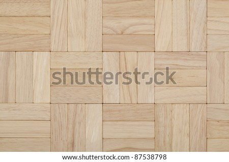 parquet beech square pattern as background