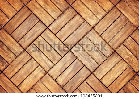 Parquet floor background - grunge element for design - stock photo