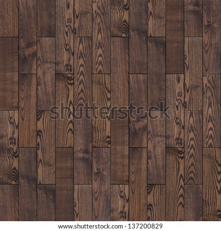 Parquet Floor. Highly Detailed Seamless Tileable Texture. - stock photo