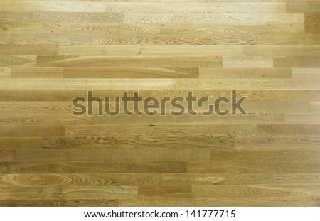 Parquet of brown color - stock photo