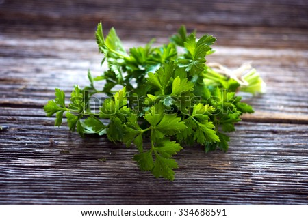 Parsley Leaves Stock Images, Royalty-Free Images & Vectors | Shutterstock