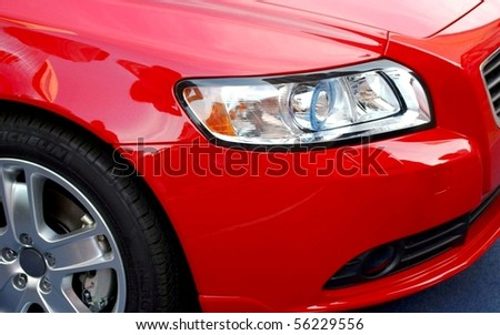 Part of a car - stock photo