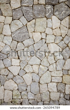 part of a stone wall background