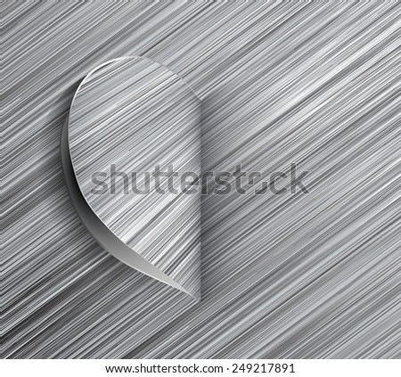 Part of heart in search of his second half - stock photo