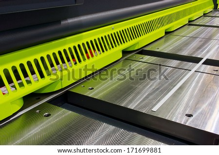 Part of industrial equipment - stock photo