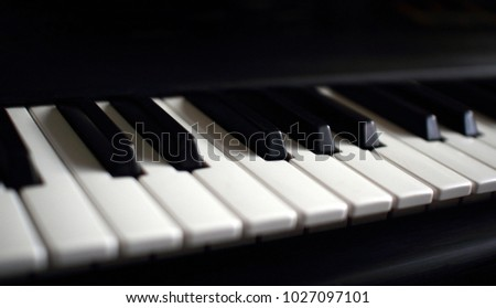 part of keyboard instrument