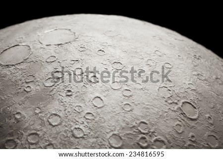 part of moon texture - stock photo