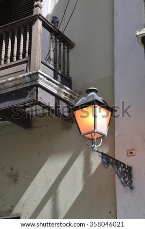 Part of San Juan, Puerto Rico - stock photo