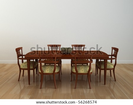 Part of the modern interior - stock photo