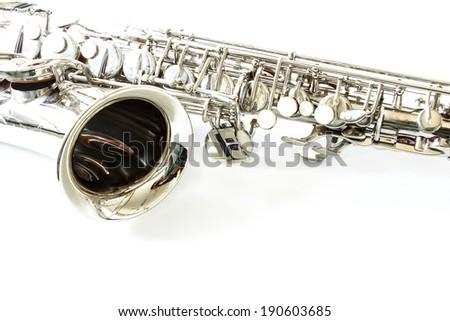 Part Saxophone - stock photo