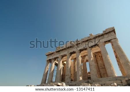 Parthenon - Acropolis (Athens, Greece) - stock photo