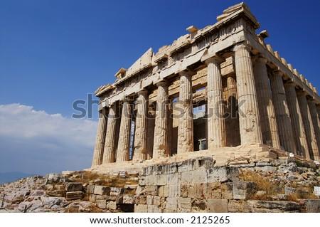 parthenon, Acropolis, Athens, Greece - stock photo