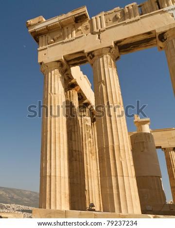 Parthenon,Acropolis,Athens,Greece - stock photo