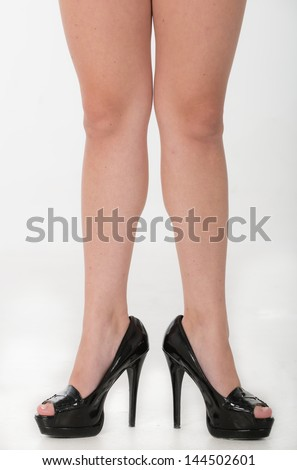 Partial of legs and high heels