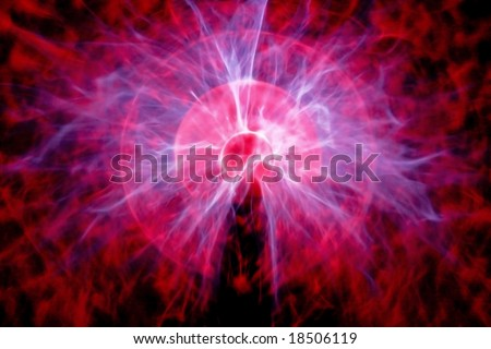 Particle explosion alike artistic creation for background