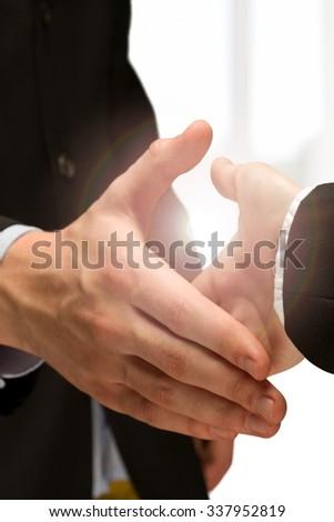 Partnership. - stock photo
