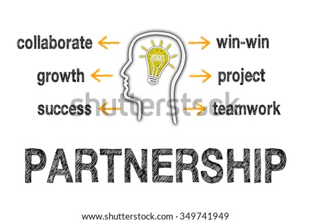 Partnership Business Concept - stock photo