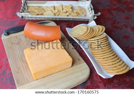 Party appetizer spread - stock photo
