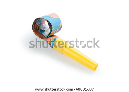 party blower - stock photo