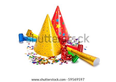 Party decoration - stock photo