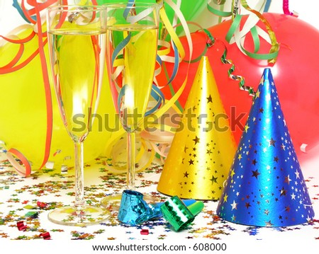 Party Favors - stock photo
