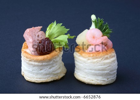 Party food close up - stock photo