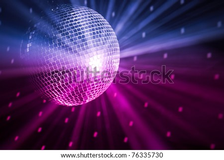 party lights - stock photo