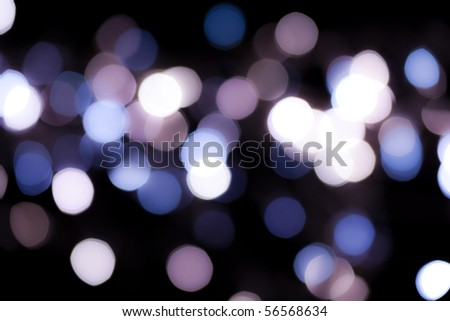 Party lights de-focused background - stock photo