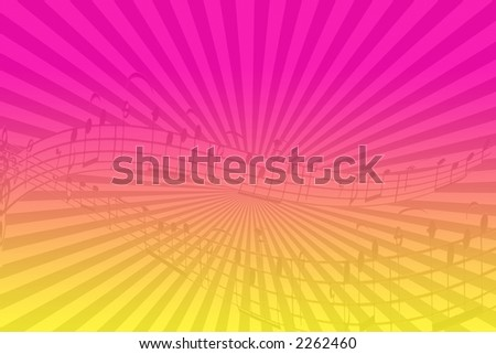 party musical background - stock photo
