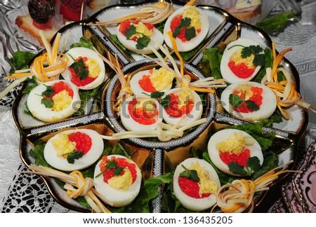 Party snacks - stock photo